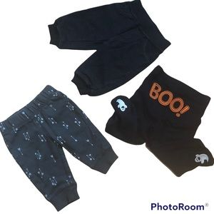 3/$12 ⭐️ 3 pairs of Halloween Baby Pants Ghost Boo